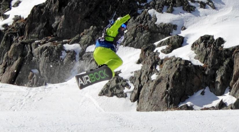 AirBock Snowboard 2014