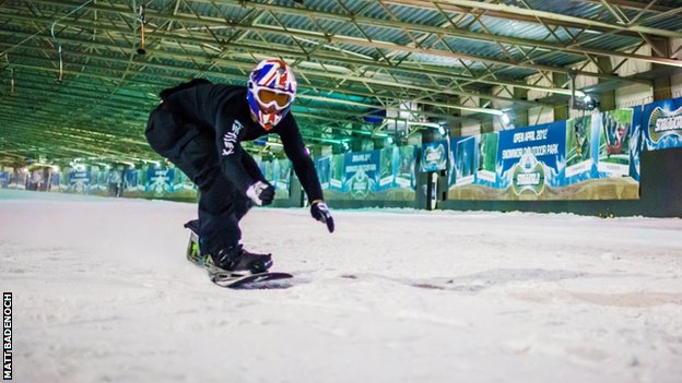 indoor snowboarding uk